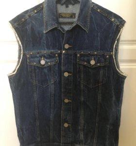 Jack&Jones джинсовая жилетка