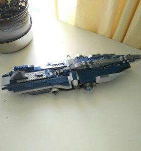 Лего карабль