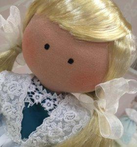 Текстильная кукла.ручная работа.
