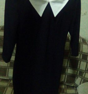 Школьное облегающее платье