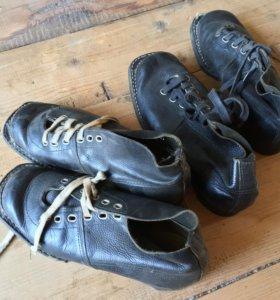 Ботинки лыжные Ссср винтажные