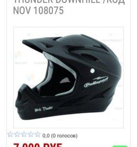 Шлем велосипедный Polisport Black Thunder Downhill