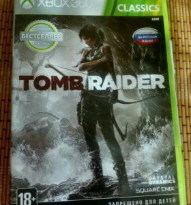 Tomb Raider игры для XBox