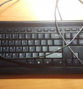 Microsoft Wired Keyboard 400 Black USB