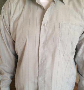 Мужская рубашка р-р 52-54