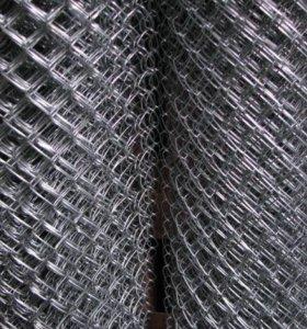 Сетка рабица. Высота 2 метра