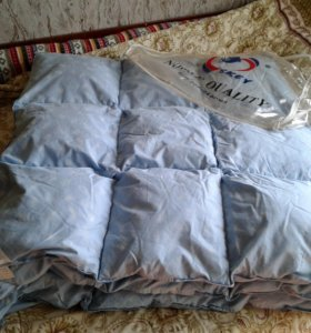 Одеяло из натурального лебяжьего пуха