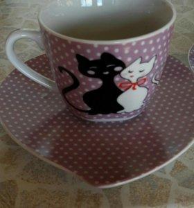 Чашка+блюдце
