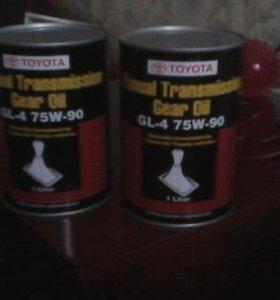 Масло трансмиссионое Toyota Gear Oil GL-4 75W-90