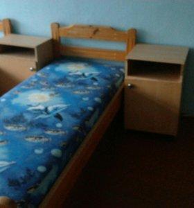 Кровать + тумба (по одной) . Доставка