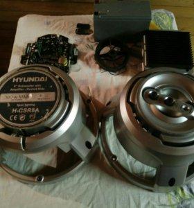Остатки от сабвуфера Hyundai H-CSR8A