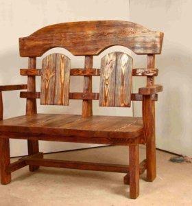 Изготовление мебели из дерева.