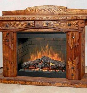 Изготовление мебели из дерева позаказ.