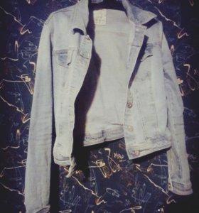 Куртка джинсовая Bershka denim