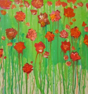 Картина на холсте в стиле Абстракция