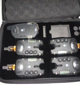 Комплект сигнализаторов с пейджером 4+1 в кейсе