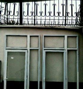 Металлопластиковы двери