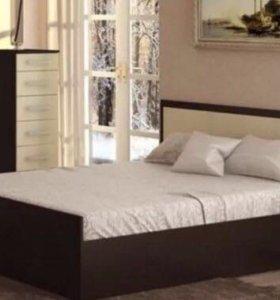 Кровать 160/200 с матрасом. Новая!
