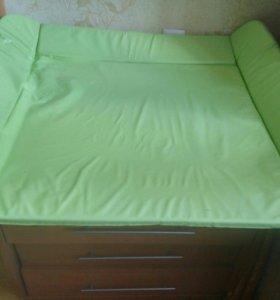Матрасик на пеленальный стол