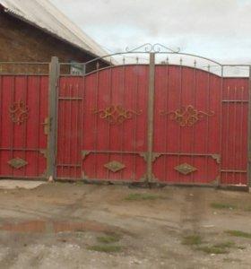 Изготовлю железные ворота