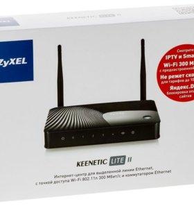 Wi-Fi роутер zyxel keenetic lte ll