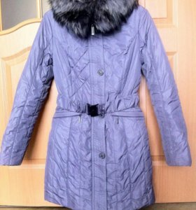 Новое зимнее пальто на синтепоне