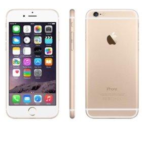 Apple 6plus белый золото ,б/у 3 месяца