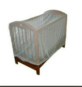 Противомоскитная сетка на детскую кровать