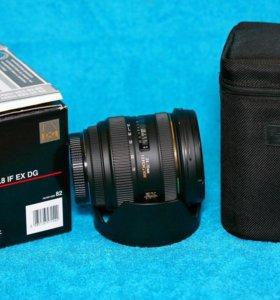 Объектив sigma AF 24-70 mm f/2.8 IF EX dghsm Canon