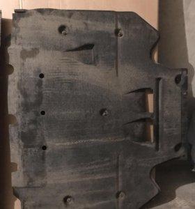 Штатная защита двигателя Audi A6 C7
