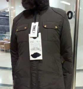 Куртка- пуховик.