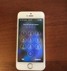 Золотой Айфон 5s