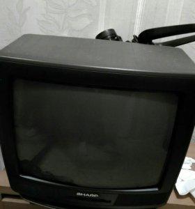 Работающий телевизор!
