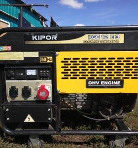 Генераторы бензиновые kipor KGE12E3