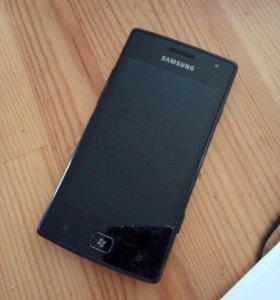 Samsung Оmnia W.Идеальное состояние.