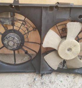 Мотор вентилятора диффузора Мазда СХ-7
