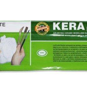 """Керамическая масса """"Kera Plast"""" 1000гр белая"""