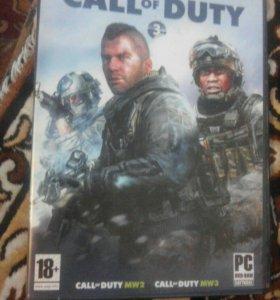 Игра на пк Call of duty 2,3 части