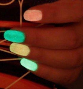 Светящийся лак для ногтей
