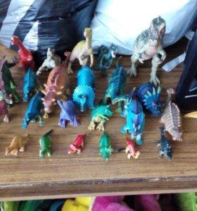 Коллекция динозавров