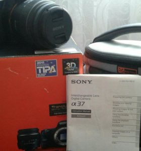 фотоаппарат sony SLT A 37K