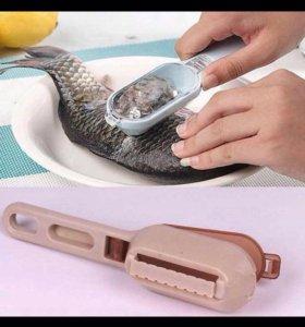 Щётка для очищения рыбы