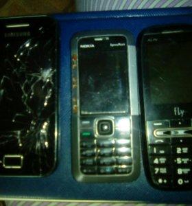 Телефоны в рабочем состоянии