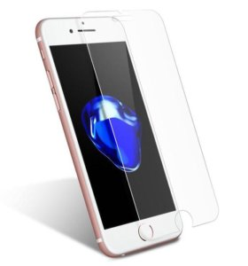 Бронестекло 2.5D на iPhone 7, (9H, 0.33мм)