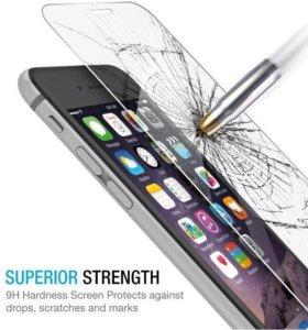 Бронестекло 2.5D на iPhone 6 Plus, (9H+, 0.33мм)