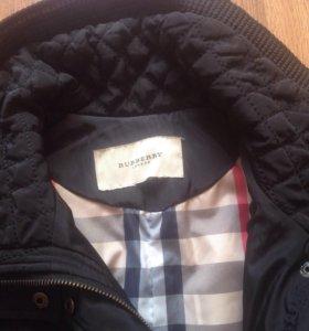 Пальто осеннее burberry