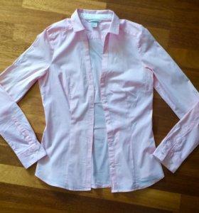 Рубашка hm приталенная
