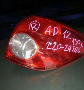 Стоп сигнал на Nissan AD   2008 г.