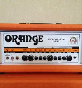 Гитарный усилитель Orange Rockerverb 100HMK II