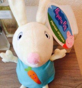 Игрушка кролик Ребекка Peppa